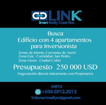 LINK BUSCA EDIFICIO CON 4 APARTAMENTOS PARA INVERSIONISTA NUEVOS O EN EXCELENTE ESTADO DE SEGUNDA