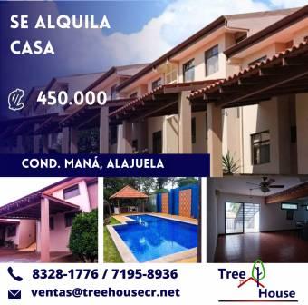 Amplia y Hermosa Casa en Renta