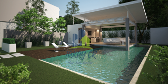 Casa de Un Nivel en Venta dentro de Condominio en Paraíso