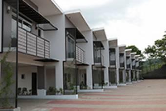 Se vende casa de 3 habitaciones en condominio en Pozos de Santa Ana