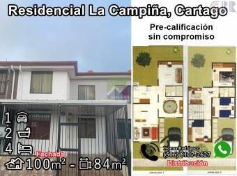 Residencial La Campiña, Cartago. RONO Whatsapp 6107-2627