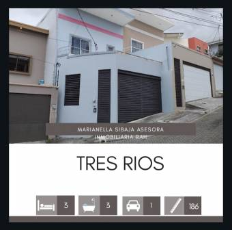 MLS-20-443 VENTA CASA TRES RIOS CARTAGO