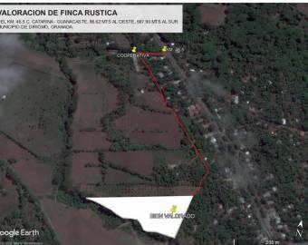 FINCA DE 1.3 MZ EN REMATE EN DIRIOMO