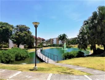 se alquila moderno apartamento amoblado con jardin y muchas amenidades en santa ana 20-751