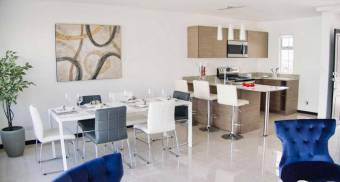 For sale modern house in condominium Coyol, Alajuela.