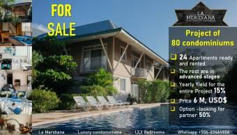 -Condominium Project For Sale-, $ 6,000,000, 1, Guanacaste, Santa Cruz