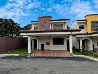 Casa NUEVA en Condominio Altamira, San Isidro - Heredia
