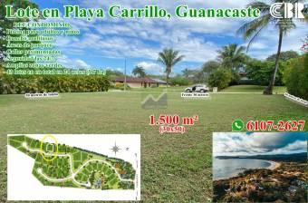 Lote en Puerto Carrillo, Guanacaste. RONO Whatsapp 6107-2627