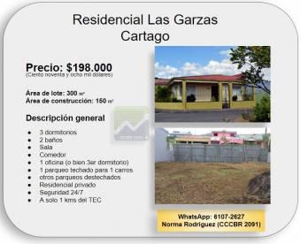 Casa en Residencial Las Garzas (506-6107-2627)