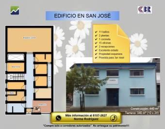 Edificio en San José (506-6107-2627)