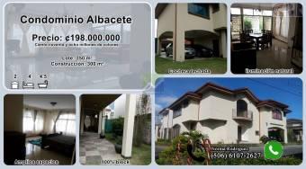 Condominio Albacete casa de 2 plantas  (506-6107-2627)