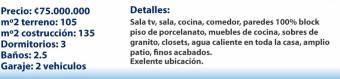 CASA NUEVA EN CONCEPCION TRES DORMITORIOS DOS COCHERAS
