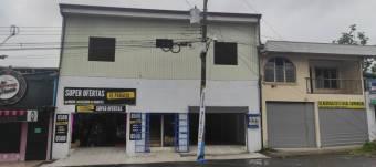 Excelente Local Comercial  en Alquiler en Guápiles Centro.  CG-21-1839