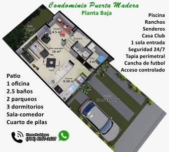 Condominio Puerta Madera, Guadalupe. (506-6107-2627)