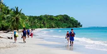 Propiedad frente al mar Caribe, playa de arena blanca