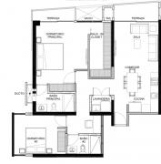 Apartamento de 2 habitaciones Latitud los Yoses
