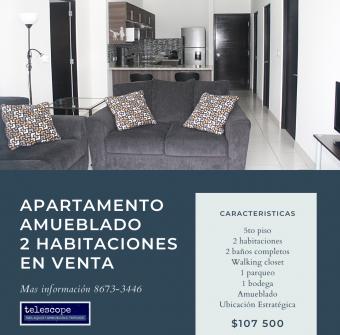 Apartamento en Venta Amueblado 2 Hab