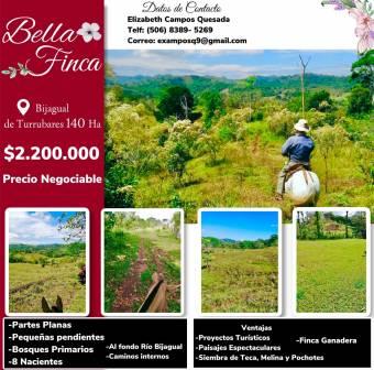 Beautiful FINCA for sale in Bijagual de Turrubares Price $ 2,200,000
