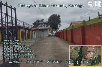 Bodega en Llano Grande, Cartago