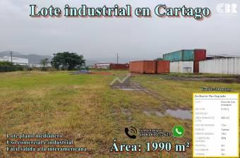 Lote industrial en Cartago