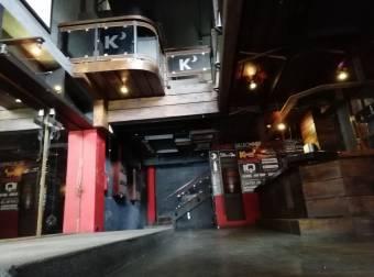 Ideal para Bar, Cantina o Disco. En Escazú, local de 231m2 con diferentes ambientes