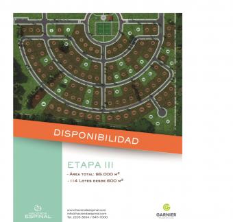 Hacienda Espinal etapa 3