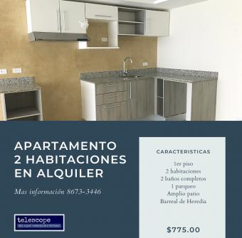 Apartamento en alquiler en Barreal 2 Hab