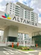 REBAJADOApartamento semi-nuevo, piso 14, vista a las montañas. Condominio Altamira