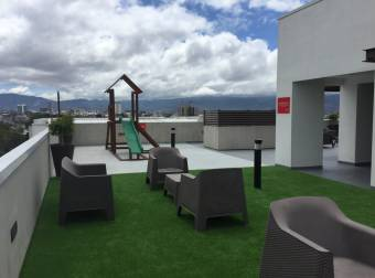 Alquiler apartamento full amueblado Tibás  2 cuartos (AV-4001)