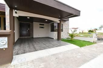$136,800 Alajuela casa nueva en 1Nivel en El Coyol