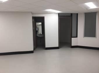 Alquiler oficina Uruca 463m2 a $6.713 oficentro (O-A451)