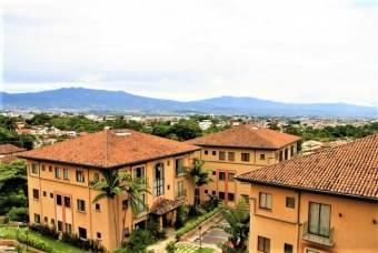 Se Renta apartamento amoblado en San Rafel de escazu a super precio y excelente ubiacion 19-1606