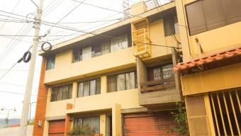 Venta de edificio de apartamentos, El Carmen San José