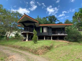 Venta de hermosa y amplia propiedad con 2 casas en Pejibaye de Cartago. #21-462